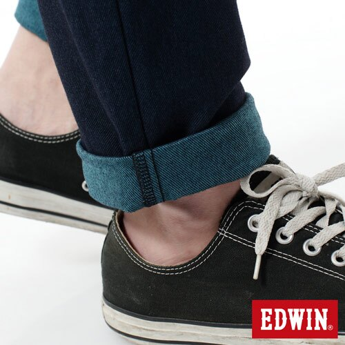 【2000元優惠↘】EDWIN JERSEYS雙色迦績AB褲-男款 寶石藍 5