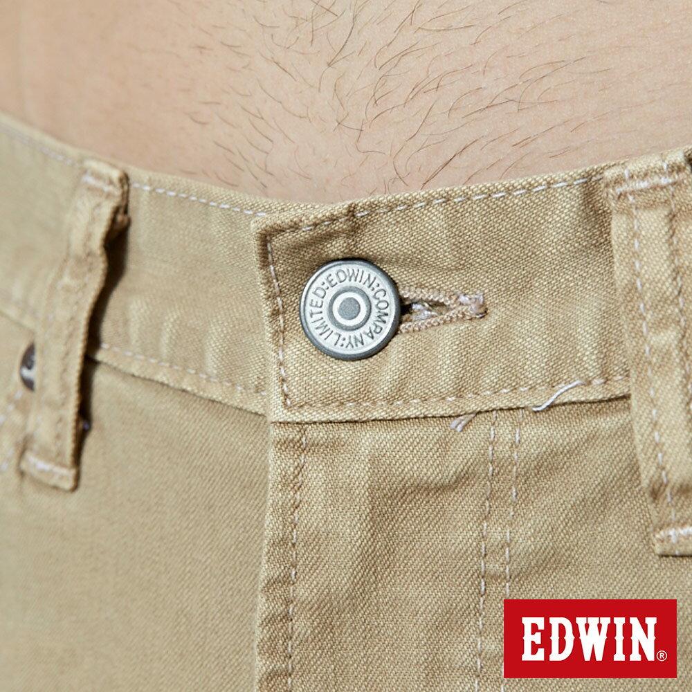 EDWIN 503 NARROW 後染中直筒牛仔褲-男款 灰卡其 STRAIGHT 7
