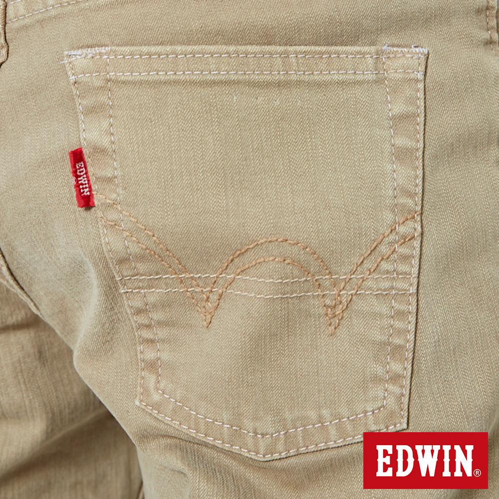 EDWIN 503 NARROW 後染中直筒牛仔褲-男款 灰卡其 STRAIGHT 9