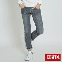 Miss EDWIN BLUE 直筒 女款 灰色