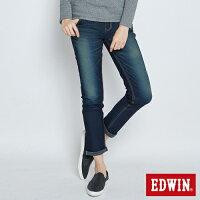 牛仔褲推薦到EDWIN JERSEYS 迦績 保溫內層 AB牛仔褲-女款 石洗綠 樂天獨家 TAPERED就在EDWIN推薦牛仔褲