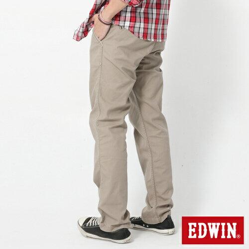 【2件組福袋。1599元↘】EDWIN BLUE JEANS KHAKI 休閒色褲-男款 灰褐色 1