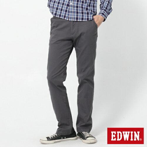 【2件組福袋。1599元↘】EDWIN 503 KHAKI西裝式長褲-男-灰色 0
