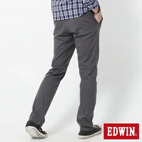 【2件組福袋。1599元↘】EDWIN 503 KHAKI西裝式長褲-男-灰色 1