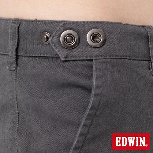 【2件組福袋。1599元↘】EDWIN 503 KHAKI西裝式長褲-男-灰色 3