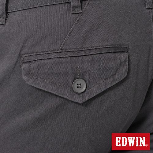 【2件組福袋。1599元↘】EDWIN 503 KHAKI西裝式長褲-男-灰色 4
