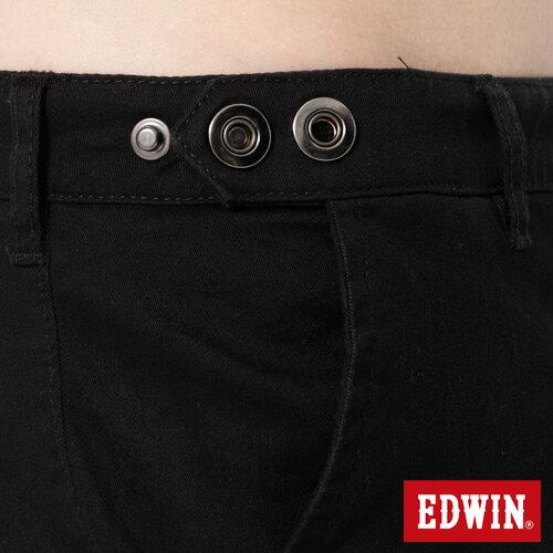 【72HR限定。790元優惠↘】EDWIN 503 KHAKI西裝式長褲-男-黑色 3