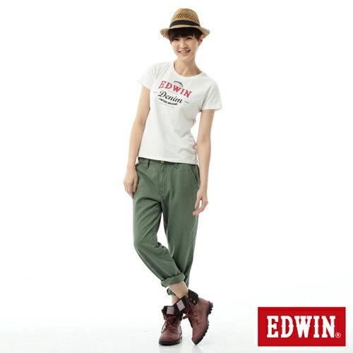 【5折優惠↘】Miss EDWIN KHAKI BOYFRIEND休閒褲 女款 橄欖綠 2