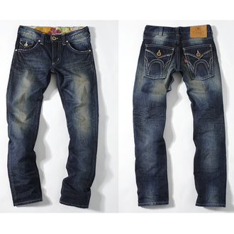 【990元優惠↘】【零碼】EDWIN 503B.T西海岸風袋蓋直筒褲-男款 原刷藍