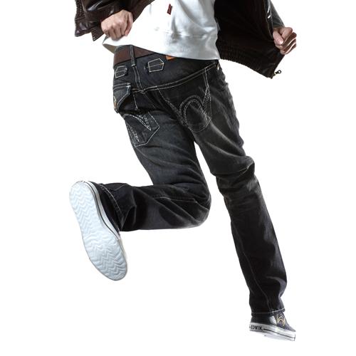 【990元優惠↘】 EDWIN 503 BLUE TRIP 不對稱口袋直筒褲-男款 灰色 0