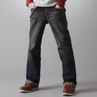 EDWIN 袋蓋靴 牛仔褲 男款 中古 零碼