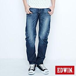 EDWIN FUNCTION 直筒褲 男款 中古 SLIM