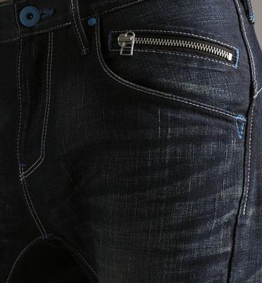 【5折優惠↘】EDWIN E-FUNCTION袋蓋窄直筒褲-男款 中古藍 1