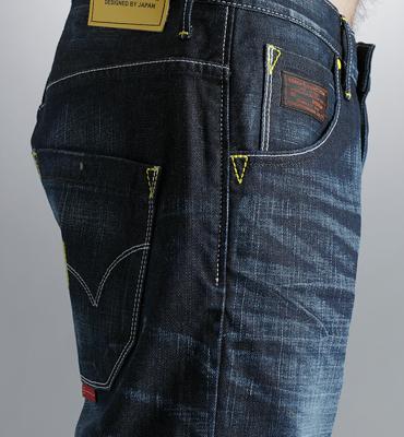 【5折優惠↘】EDWIN E-FUNCTION 直筒牛仔褲-男款 原藍磨 2