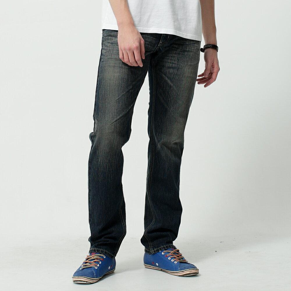 EDWIN BLUE TRIP 假口袋袋蓋AB褲-男款 中古藍 TAPERED 零碼 1