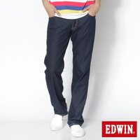EDWIN 直筒牛仔褲 男款 藍色 限定APP 序號