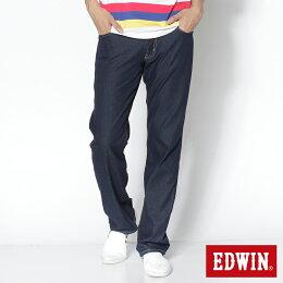 EDWIN COOL RELAX 直筒牛仔褲 男款 藍色