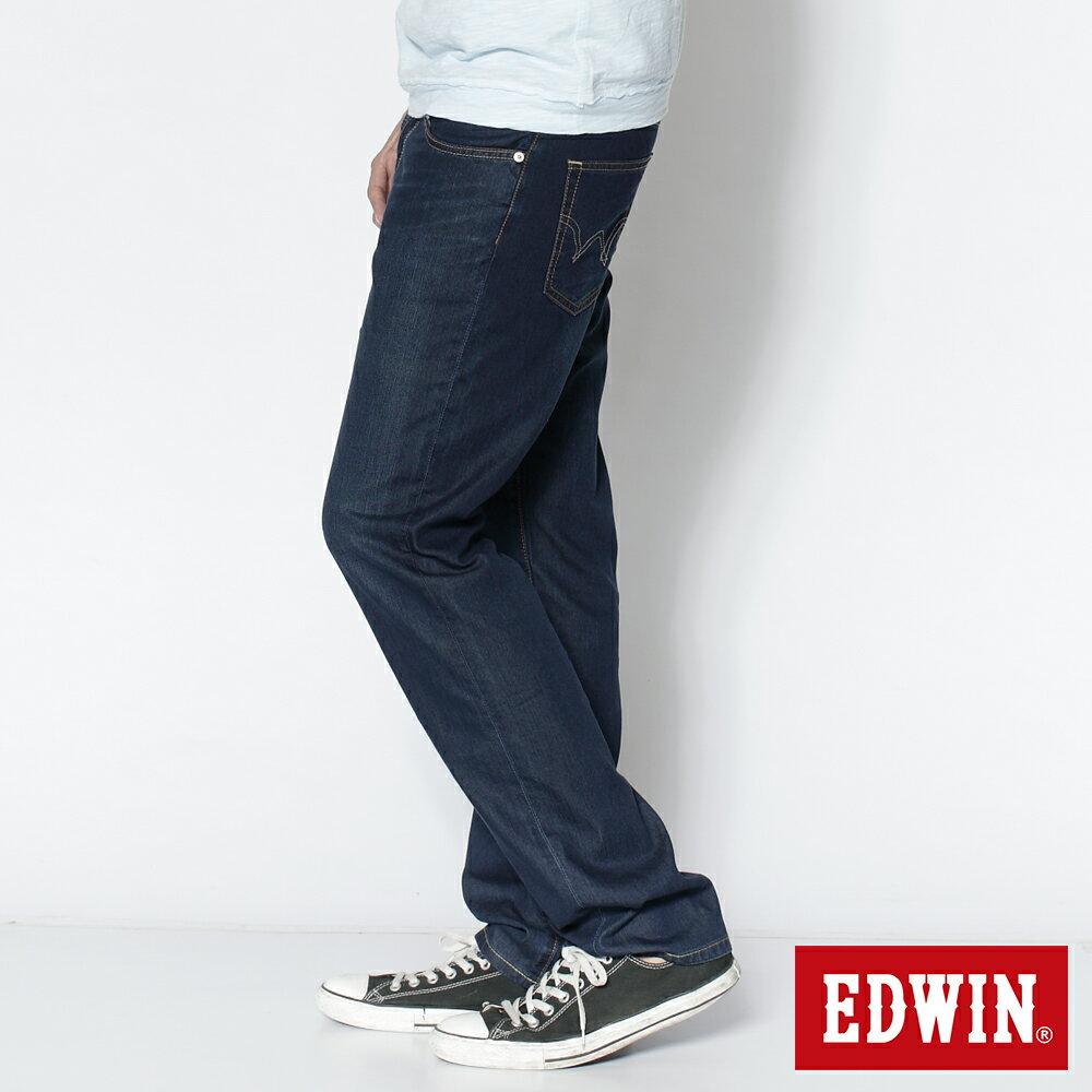 EDWIN COOL RELAX 中直筒牛仔褲-男款 中古藍 STRAIGHT 3