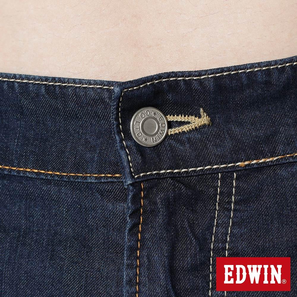EDWIN COOL RELAX 大尺碼  中直筒牛仔褲-男款 中古藍 STRAIGHT 零碼 7
