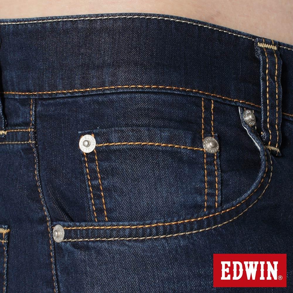 EDWIN COOL RELAX 大尺碼  中直筒牛仔褲-男款 中古藍 STRAIGHT 零碼 8