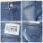 【5折優惠↘】EDWIN COOL RELAX 雙面穿窄管牛仔褲-女款 石洗藍 1