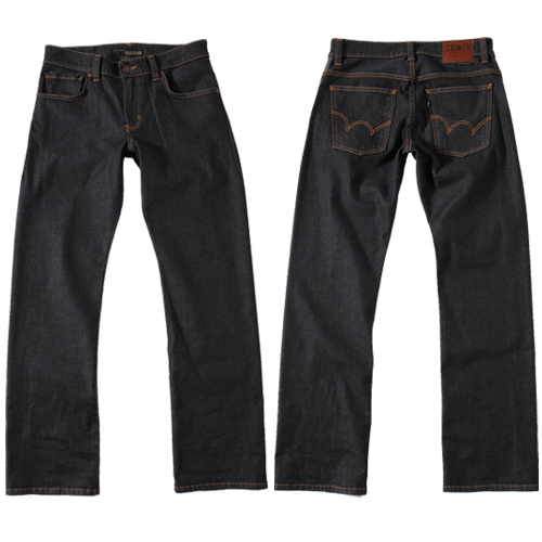 【990元優惠↘】EDWIN 503 ZERO直筒褲-男款 黑色【APP下單滿799輸入代碼APP170622折100元↘序號限用一次↘】 1