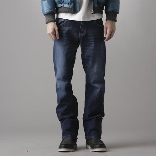 【990元優惠↘】 EDWIN 503 ZERO 低腰中直筒牛仔褲-男款 拔洗藍