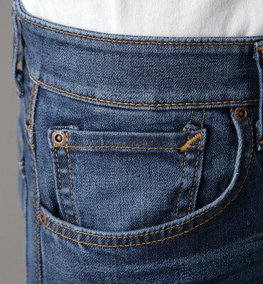 【1290元優惠↘】EDWIN 503 ZERO直筒褲-男款 拔洗藍 1