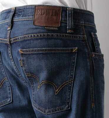 【1290元優惠↘】EDWIN 503 ZERO直筒褲-男款 拔洗藍 2