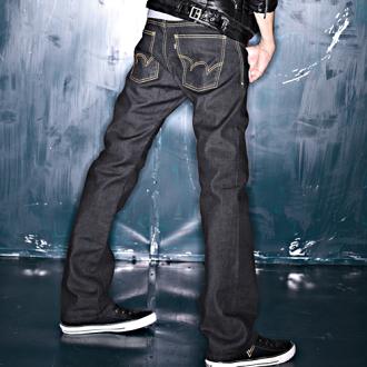 【經典丹寧。990元均一價↘】EDWIN 503 ZERO直筒褲-男款 黑色【4/25單筆588憑優惠券序號17marathon-2。再折88元】