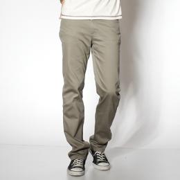 EDWIN 503 COOL RELAX 涼感中直筒休閒褲-男款 灰綠色 STRAIGHT