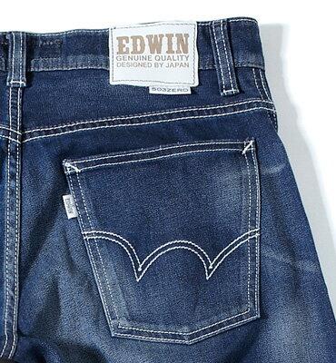 【990元優惠↘】EDWIN 503 ZERO COOL 直筒褲 酵洗藍【4/28單筆588輸入序號17marathon-5。再折88元 /單筆1800輸入序號EDWIN200-2。再折200】 2