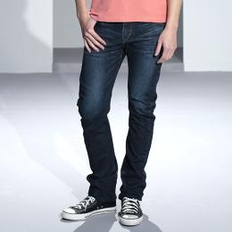 EDWIN E-FUNCTION ZERO 中直筒牛仔褲-男款 中古藍 STRAIGHT