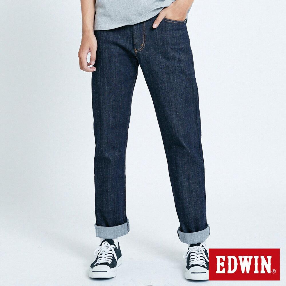 EDWIN 503 FLEX 基本款 中直筒牛仔褲-男款 原藍色 STRAIGHT 0