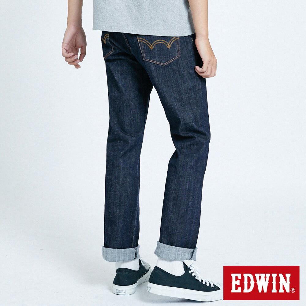 EDWIN 503 FLEX 基本款 中直筒牛仔褲-男款 原藍色 STRAIGHT 1