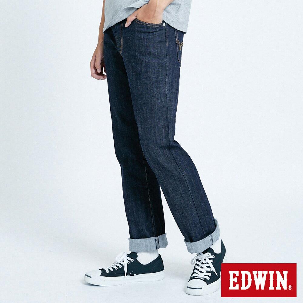 EDWIN 503 FLEX 基本款 中直筒牛仔褲-男款 原藍色 STRAIGHT 2