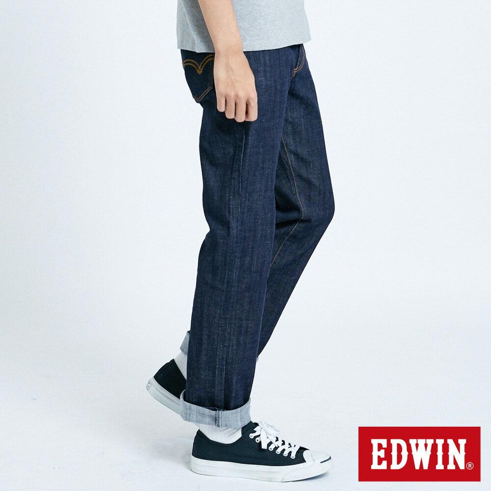 EDWIN 503 FLEX 基本款 中直筒牛仔褲-男款 原藍色 STRAIGHT 3
