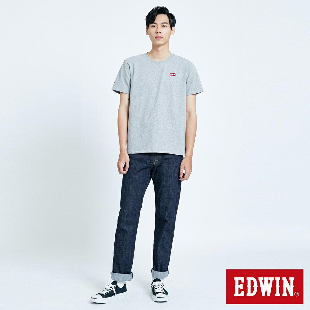 EDWIN 503 FLEX 基本款 中直筒牛仔褲-男款 原藍色 STRAIGHT 4