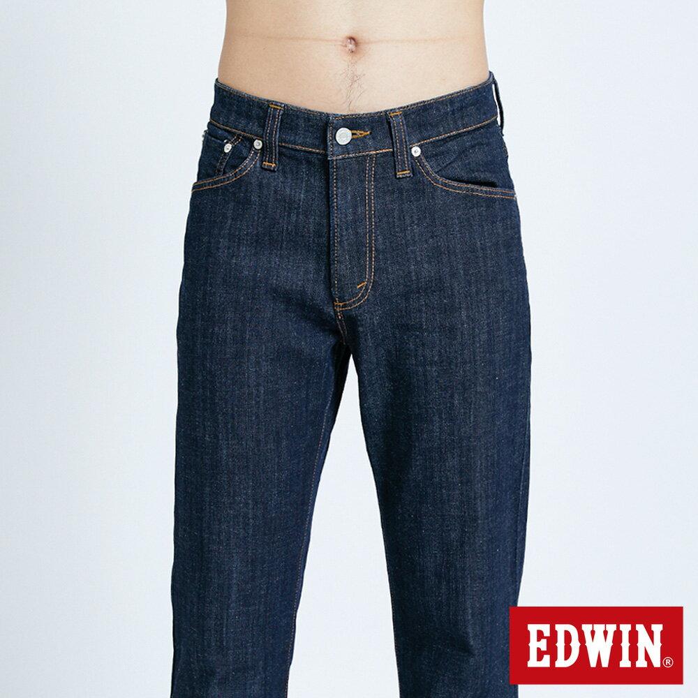 EDWIN 503 FLEX 基本款 中直筒牛仔褲-男款 原藍色 STRAIGHT 5