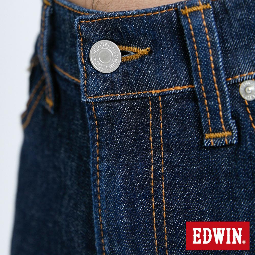 EDWIN 503 FLEX 基本款 中直筒牛仔褲-男款 原藍色 STRAIGHT 7