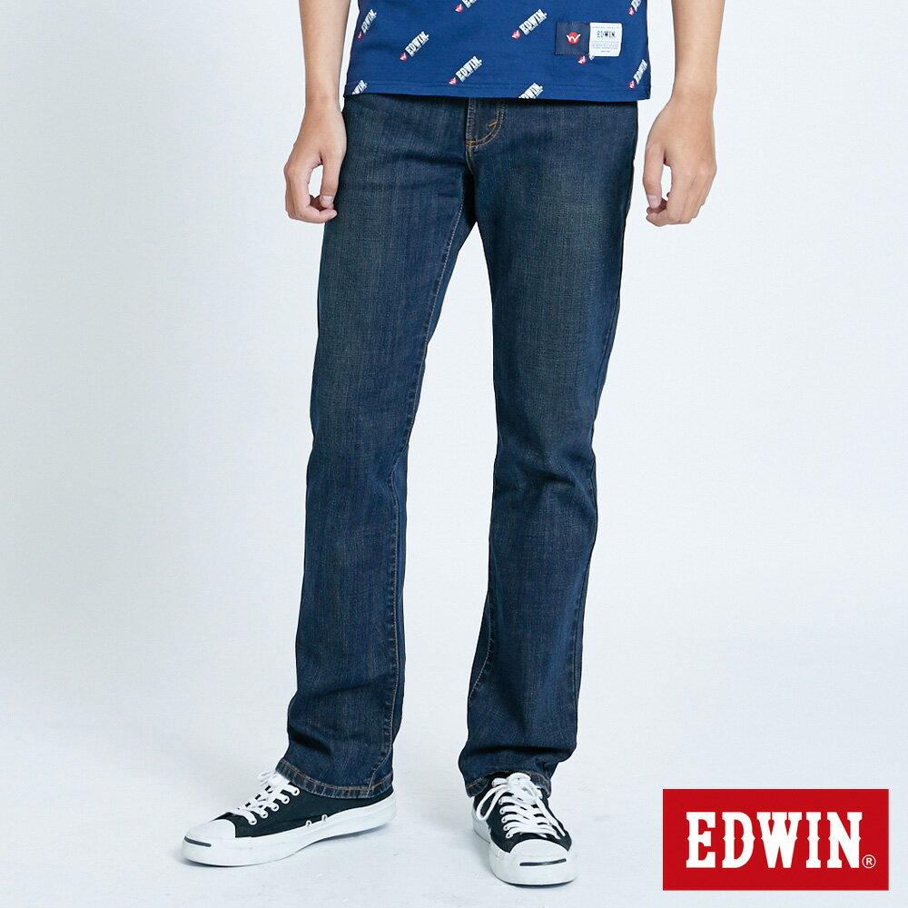 EDWIN 503 FLEX 基本款 中直筒牛仔褲-男款 中古藍 STRAIGHT 0