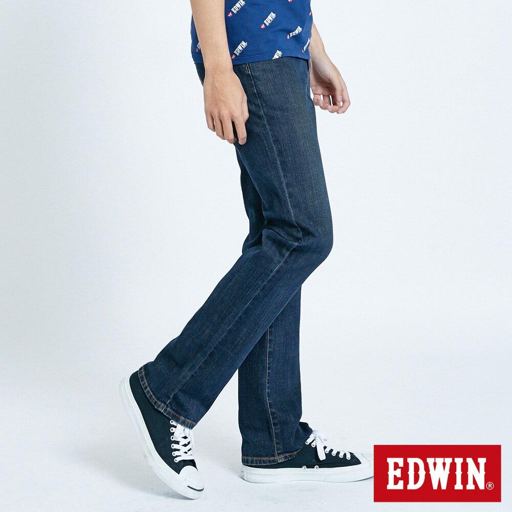 EDWIN 503 FLEX 基本款 中直筒牛仔褲-男款 中古藍 STRAIGHT 1