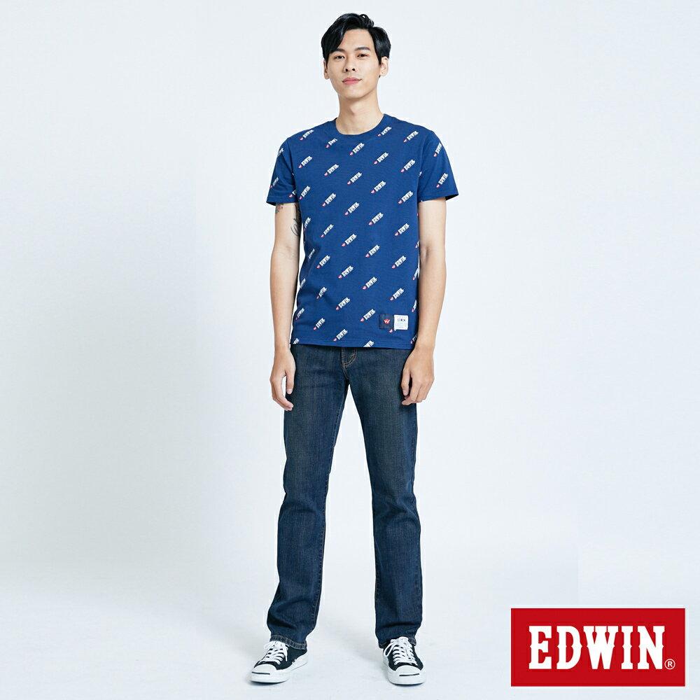EDWIN 503 FLEX 基本款 中直筒牛仔褲-男款 中古藍 STRAIGHT 3