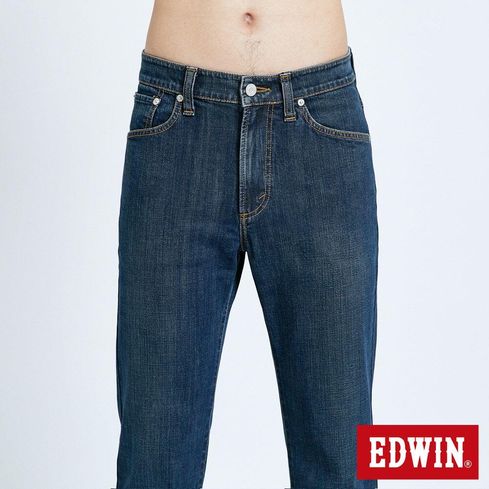 EDWIN 503 FLEX 基本款 中直筒牛仔褲-男款 中古藍 STRAIGHT 4