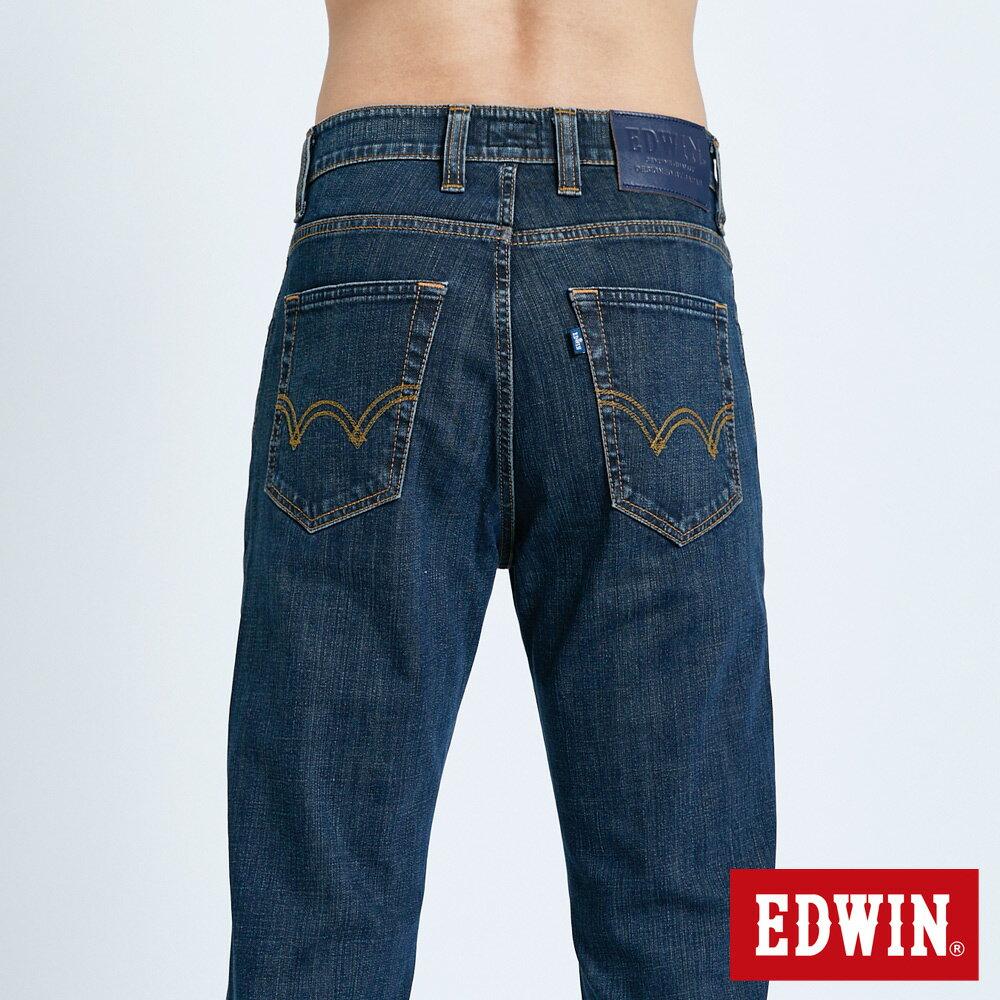 EDWIN 503 FLEX 基本款 中直筒牛仔褲-男款 中古藍 STRAIGHT 5