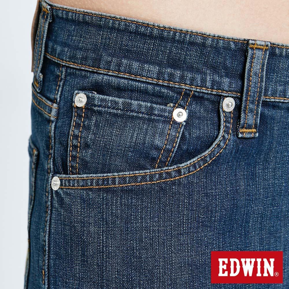 EDWIN 503 FLEX 基本款 中直筒牛仔褲-男款 中古藍 STRAIGHT 7