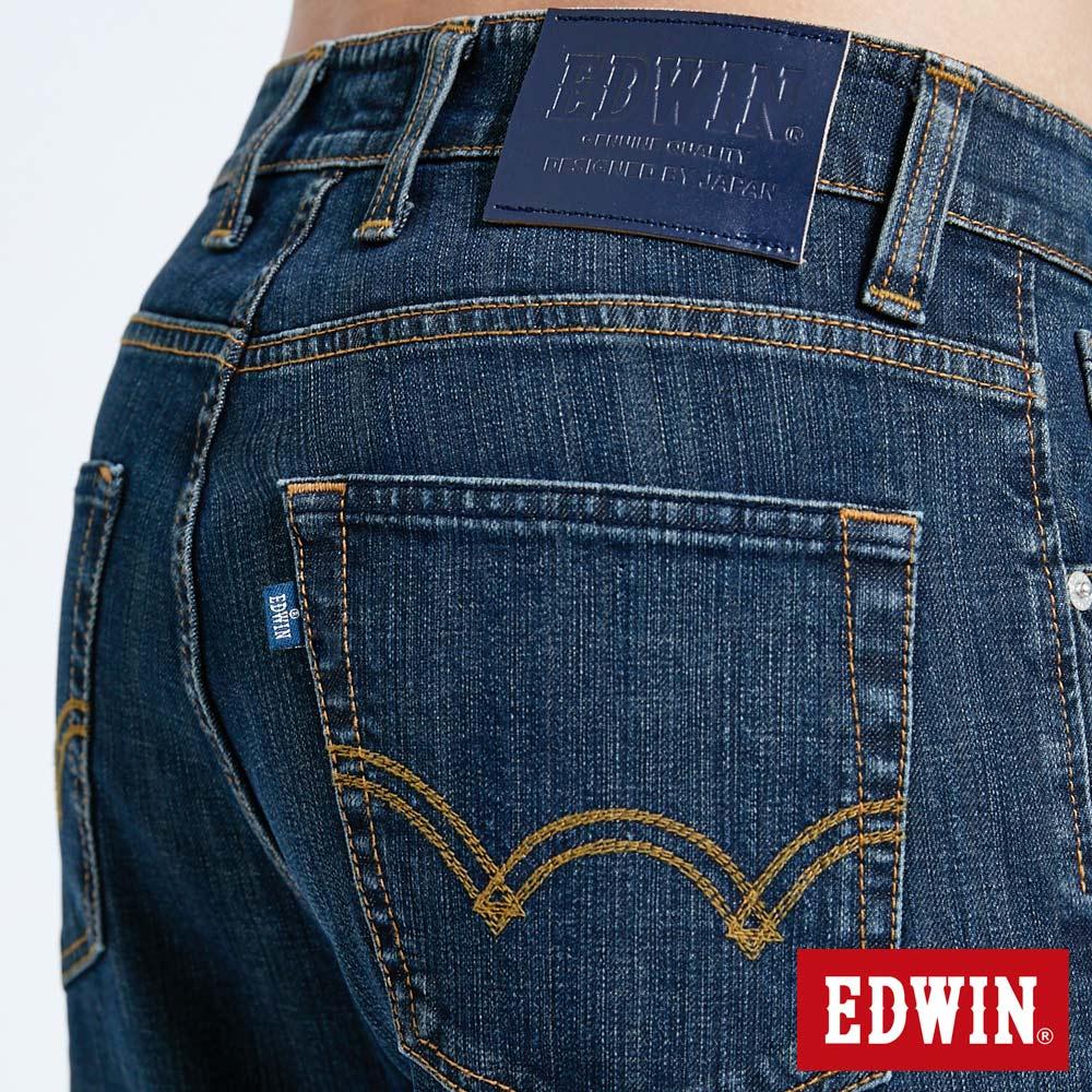 EDWIN 503 FLEX 基本款 中直筒牛仔褲-男款 中古藍 STRAIGHT 8