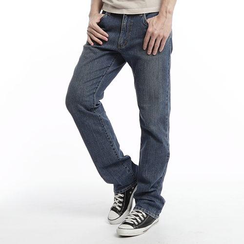 EDWIN 503 基本款牛仔褲-男款 漂淺藍 0