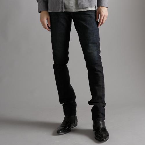 【丹寧買一送一↘】EDWIN EDGE LINE 雙口袋窄管牛仔褲 - 男款 原藍磨
