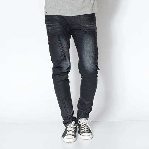 【5折優惠↘】EDWIN E-FUNCTION 窄管牛仔褲-男款 原藍磨 0